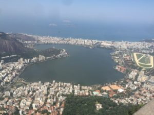 View of the Lagoon from Corcovado mountain