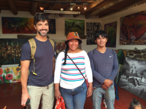Local artists from Ollantaytambo, Peru