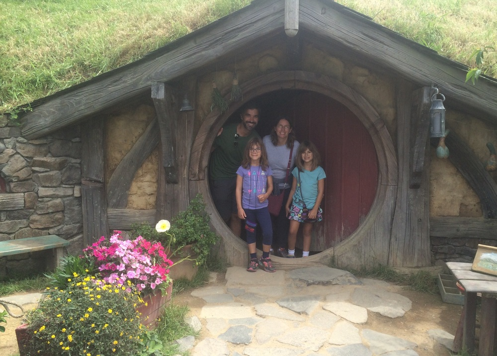 So this is where the Hobbits live!