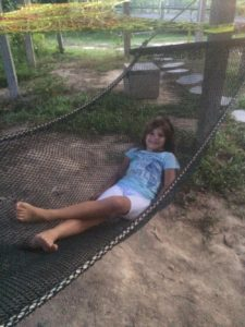 You could relax in these hammocks though.