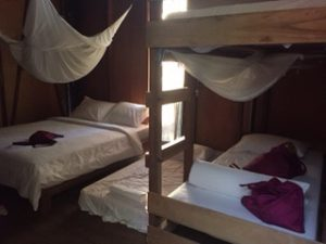 Our room in Paganakan Dii. Between this and Mulu, we were in quite close quarters for 8 nights, with no pool to relax in.