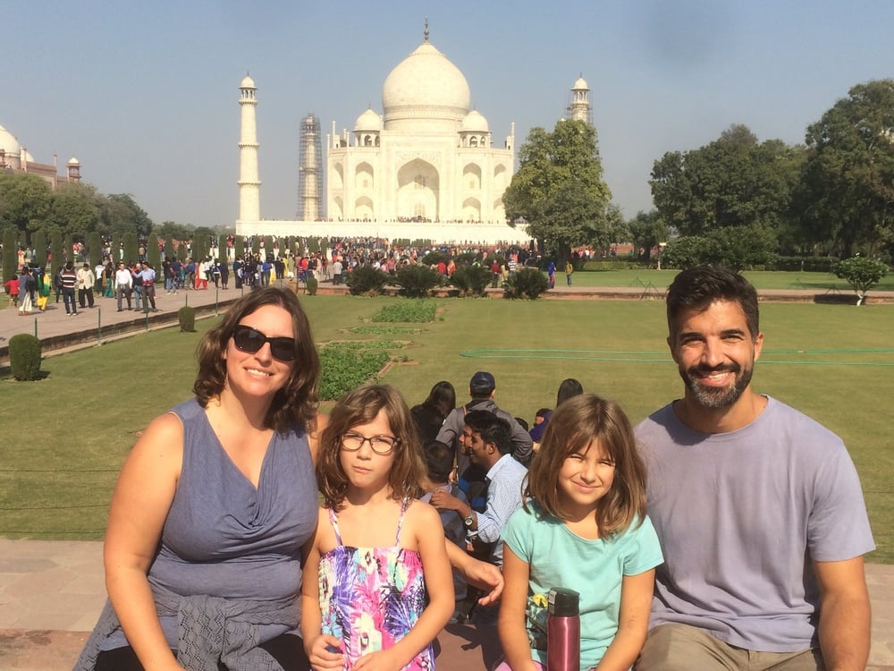 The Taj Mahal is a mausoleum, housing the tombs of the Mughal emperor Shah Jahan and his third wife, Mumtaz Mahal.