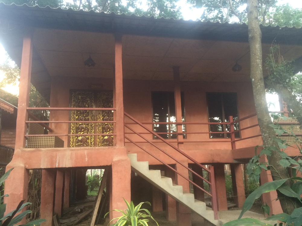 Our room at the Elephant Nature Park was as big as a small house!
