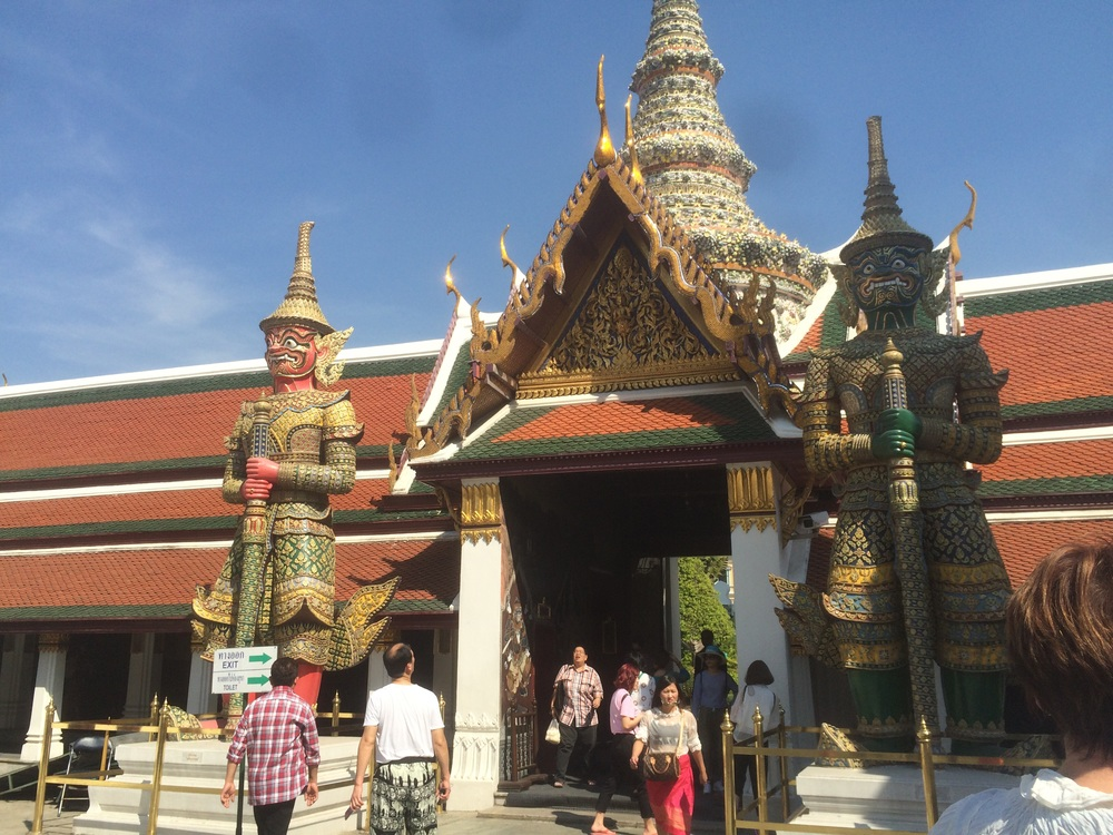 Part of The Grand Palace Complex.