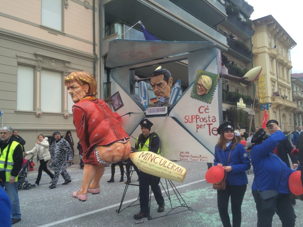 One of the more political floats