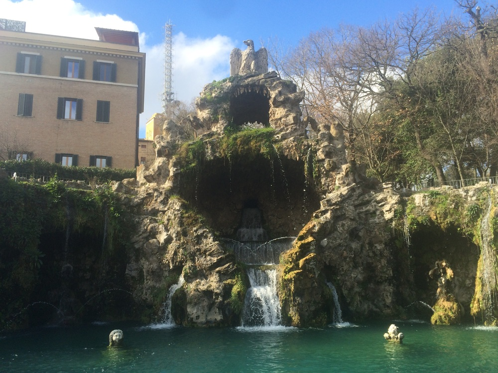 The Grotto in the Vatican Gardens