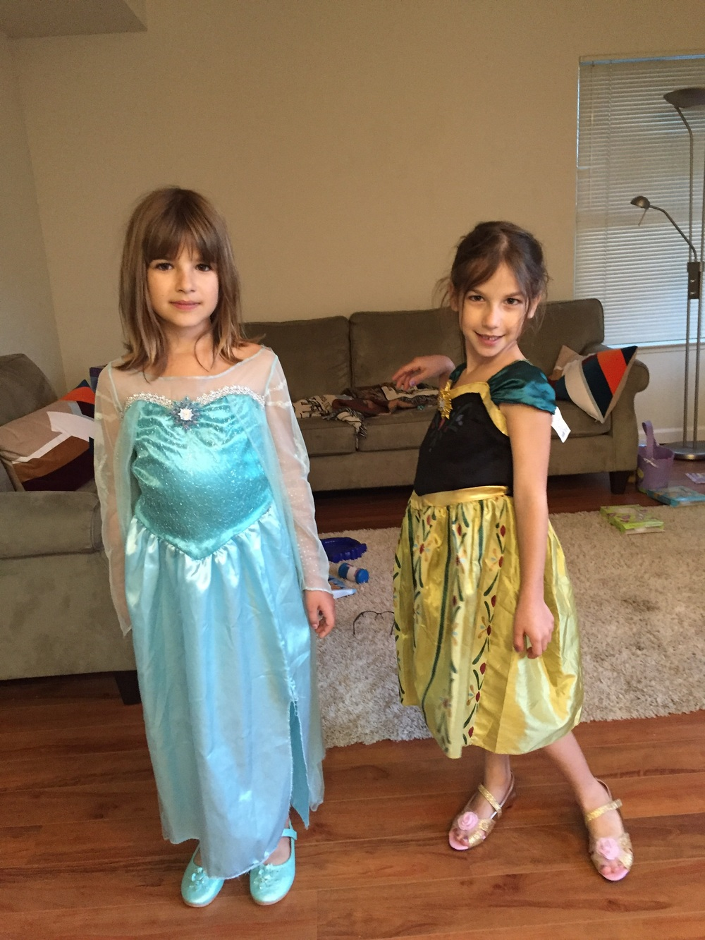 Rediscovering their costumes. Looks good paired with their shoes from Thailand.