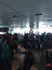 Lots of people were stuck at Istanbul Ataturk airport