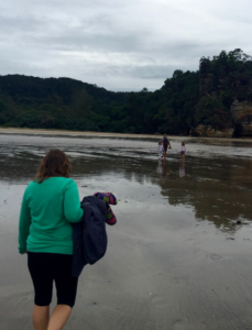 Packing List essential: One of the few times I wore a long-sleeve top. Shown with my capris leggings. Bako National Park, Sarawak, Malaysia