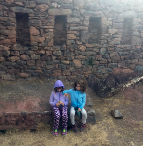 Pisac, Peru with the infamous hoodies