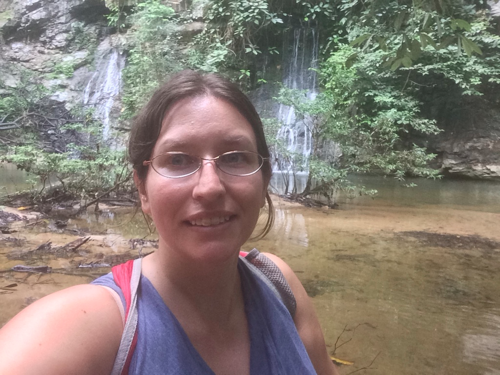 My solo hike to the waterfalls in Mulu National Park