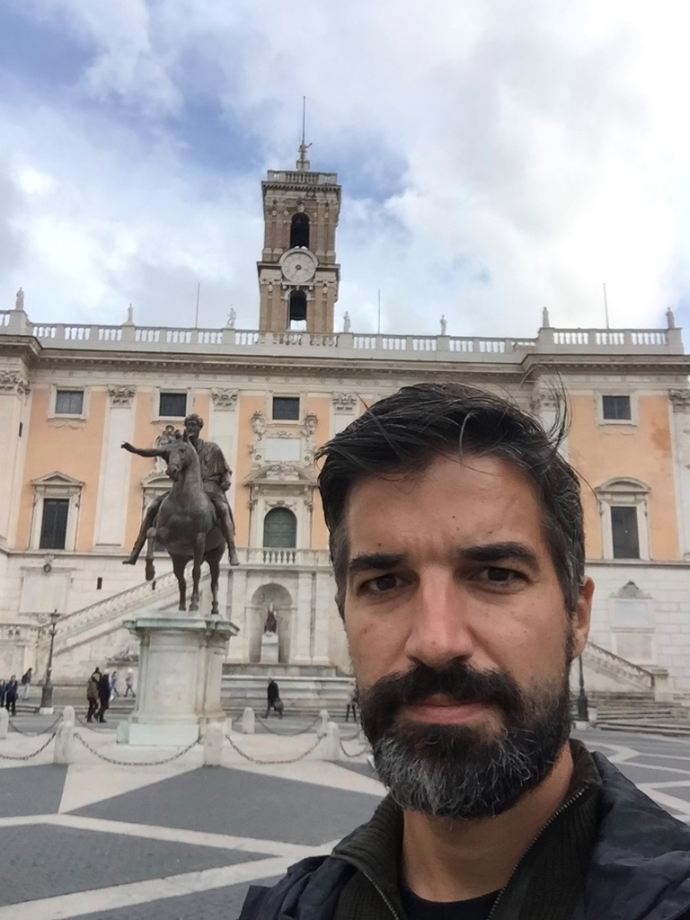 Anthony exploring Rome on his own