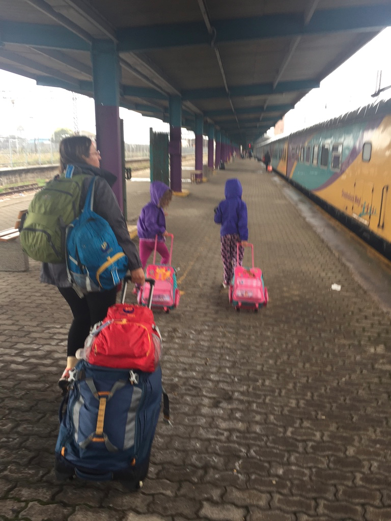 Taking the Shosholoza Meyl train from Johannesburg to Port Elizabeth