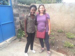 Our lovely Airbnb host, Pamela. I highly recommend staying at her place if you're in Nairobi