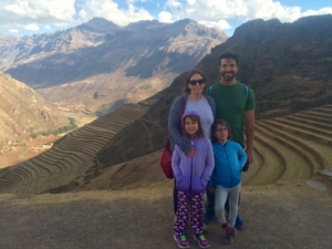 What a beautiful view from the Pisac ruins!