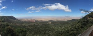 Panoramic view of the Great Rift Valley