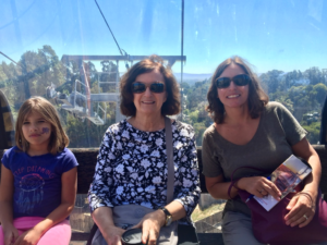 The Gondola, with views of the Bay Area in the background