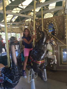 The Carousel is always a big hit with my girls!
