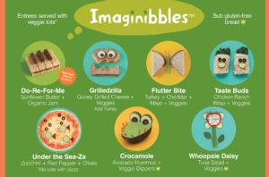 Bean Sprouts Cafe Kids Menu
