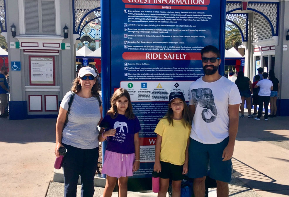 Family Guide to California's Great America (Santa Clara, California)