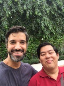 Anthony & Vittavas, our Bangkok AirBNB host.